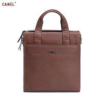 Camel camel cowhide handbag one shoulder bag messenger bag the trend of commercial mb110005-03