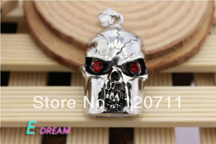 E-DREAM Wholesale Cheap Mini skull style2 crystal pendant 4GB 8GB 16GB 32GB USB Flash Drive Thumb/Car Pen drive Personality Gift(China (Mainland))