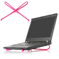Free shipping Super eco-friendly computer cooling rack portable laptop cooler stand dropship