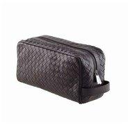 wholesale 7799 Nero Intrecciato Vn Toiletry Case,men bags,designer bags Free Shipping