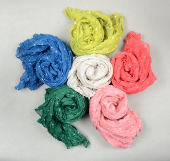 Pleated big scarf 2013 scarf wrinkled scarf 6