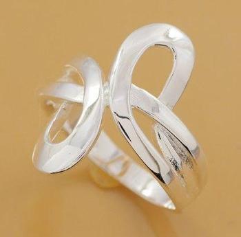 R206 925 silver ring, 925 silver Модный jewelry, Модный ring
