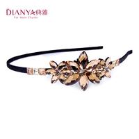 Elegant austria crystal colorful flower hair accessory hair accessory hair bands headband rhinestone 00277