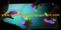 32 Inch Dual touch IR Touch Overlay Frame,16:9 format for multi touch table, advertising