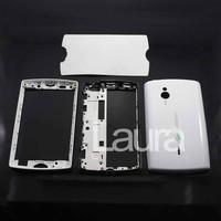 Original  front and back Housing Cover Case For Sony Ericsson SK17i Xperia mini pro white/black