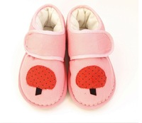 Handmade children's cotton-padded shoes, cotton shoes baby girls cotton-padded shoes, baby shoes--AD062
