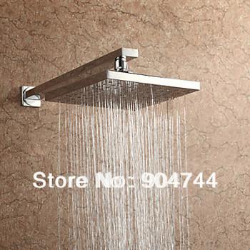2014 New Modern Design Square 8'' inch 20x20cm Bathroom Rain Shower Head