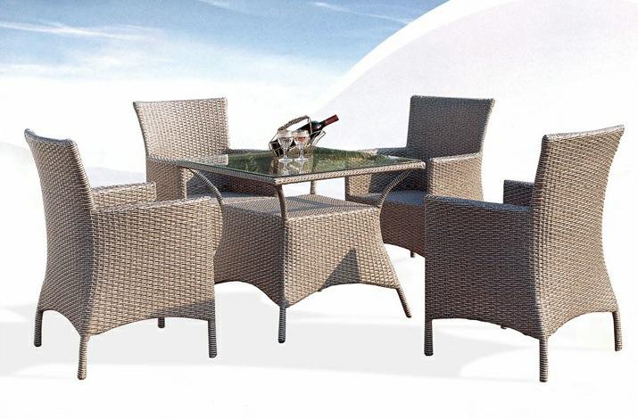 Moderne chaise de loisirs meubles de jardin balcon en for Table exterieur osier