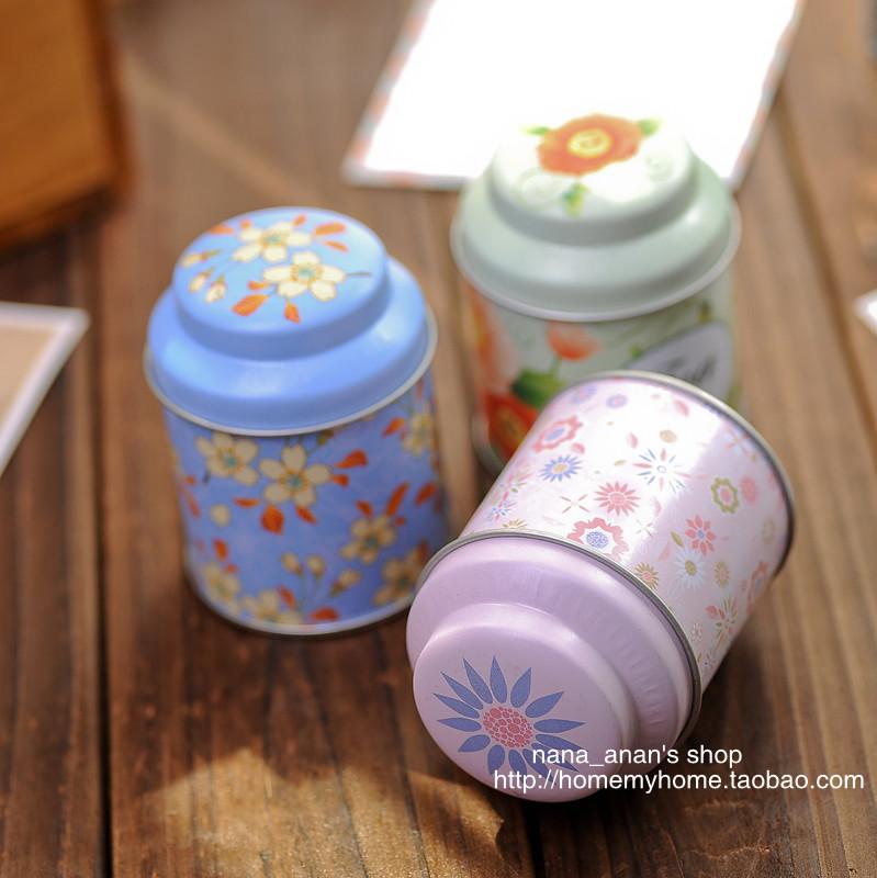 Chapas de ferro caddy latas de mini-portáteis seladas tinsheet pequena caixa zakka pequena caixa(China (Mainland))