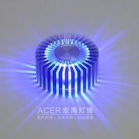 Free shipping,3 W  high power LED aluminum lamp, the luminous efficiency lights, spotlights