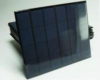 Big Promotion Free shipping  6V 3.5W A grade High efficiency Epoxy solar panel. solar cell panel for make solar light solar kits