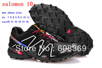 New Arrived Salomon Speedcross 3 CS Shoes Men Athletic Shoes Running shoes 40-45  Free shipping