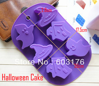New Arrived Cute Halloween Style Cake Mould Chocolate Molds Jelly Ice Molds Cake Mould Case Bakeware Maker Mold Tray Baking