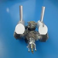 DLE 60CC Twin Engine gas engine / airplane model gas engine