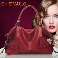 free shipping Paul 2013 summer women's cowhide handbag luxury brief genuine leather bag shoulder bag cross-body handbag