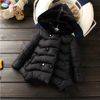 Free shipping Retail hot selling new 2013 fashion autumn winter coat for baby girl outerwear down warm wadded jacket