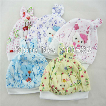 2013 New arrival 10pcs/lot cute animal cartoon rabbit baby winter autumn caps newborn baby girl head wrap