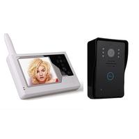 "3.5"" TFT LCD Wireless Video Door Phone 2.4GHz Intercom Doorbell Intercom System"
