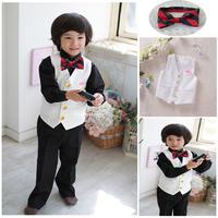 2013 new fashion high quality flower boy clothing set for wedding free shipping