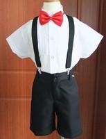 2013 new fashion short sleeve shirt pants baby boy overall free shipping