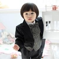 2013 new fashion high quality 7 pcs kids suit free shipping