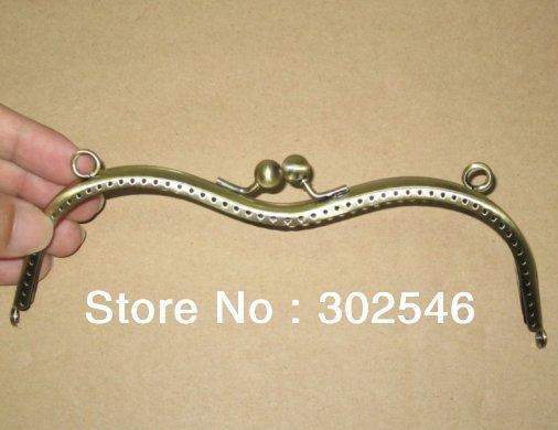 10PCS 19CM Metal internal purse frames wholesale and retail F2286(Hong Kong)