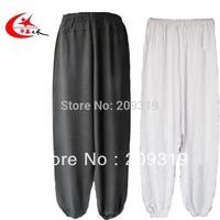 Cotton taichi pants Black