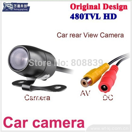 1pcs/lot Mini car rear camera best quality Free Shipping(China (Mainland))