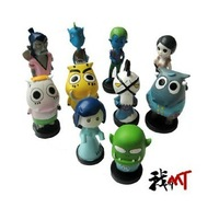 2013 Brand NEW High Quality CUTE! WOW  World of warcraft 3 inch Resin I am MT Action figures 10pcs/lot