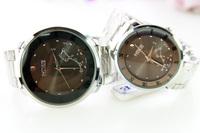 Fashion steel watch lovers watch 140016