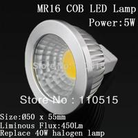 LED light bulb COB LED E27 GU10 E14 MR16 5w Dimmable 220V 110V 50pcs COB Spotlight Bulb LED lamp 12V 2years Good Quality