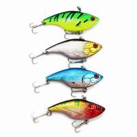 Fishing Lure VIB Vibration Bait Crank baits Sinking VIB Jerk bait Hooks Freshwater 4pcs/lots Free Shipping