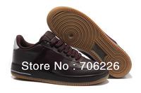 2013 Hotsale ! NIMANI cow muscle sole waterproof men runnig shoes wine red soports shoes for men