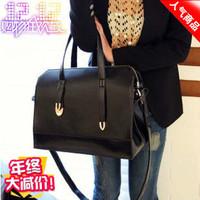 fashion portable bag women handbag shoulder cross-body bag  black, red colour