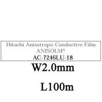 AC7246LU-18, W2.0mm, L100m, Anisotropic Conductive Film, DHL/EMS Free Shipping!!