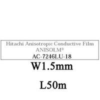 AC7246LU-18, W1.5mm, L50m, ACF for FPC to glass, DHL/EMS Free Shipping!!