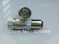 Factory-selling high-brightness 80w White/Amber/Red cree led 10-30v 1157 bay15d car led
