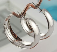 2013 Fashion bijoux jewelry.Contracted personality smooth   stud earrings.J087