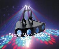 AC110V-220V 256pcs RGB Bright  LED Four Heads Light Lamp DMX Professional Stage DJ Lighting for Party 30W