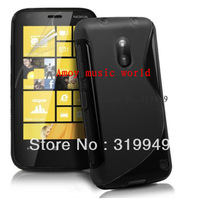 High Quality Soft TPU Gel S line Skin Cover Case for Nokia Lumia 620 Free Shipping UPS DHL HKPAM CPAM H-78