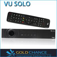 Vu SOLO original Vu+ solo HD Satellite Receiver Linux system DVB-2s dvb-s tuner optional high quality decoder dhl free shipping