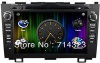 Car Android 4.0 PC DVD GPS Player for HONDA CRV CR-V (2007-2011) 3D MENU WIFI 3G Modem 1024MHZ CPU+1G DDR3 In Dash FREE SHIPPING