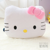 Hellokitty bow classic pillow dual-purpose pillow is air conditioning cushion quilt
