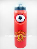 football fans Red flask Cycling Water Bottle Jug 25oz 750ml Bike Bicycle Hiking Camping Outdoor Sports