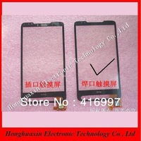 1PCS  For HTC HD2 T8588 T8585 Touch Screen Digitizer Front Panel Glass Lens,high quality and free shipping