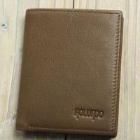 Fashionable design genuine leather pocket wallet