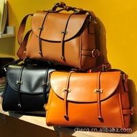 New 2013 leather handbags women 2013 Lady PU handbag Leather Shoulder Bag