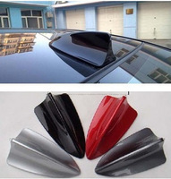 hot sale Universal Auto Car Shark Fin Roof Decorative Decorate Antenna Aerial White/Silver/Black car accessories