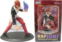 The king of fighters kof hand-done iori model doll