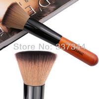 3pcs/Lots Makeup Tool Falt Brush Blusher Brushes Powder Brush Nythetic Make Up Falt Brushes, Free Shipping, Gift